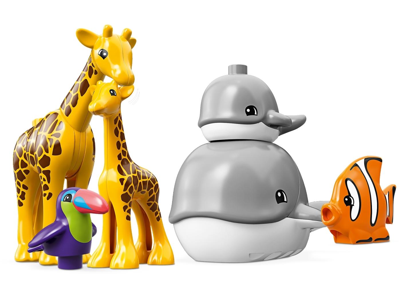 World Animals LEGO 10907 Duplo Tiere der Welt