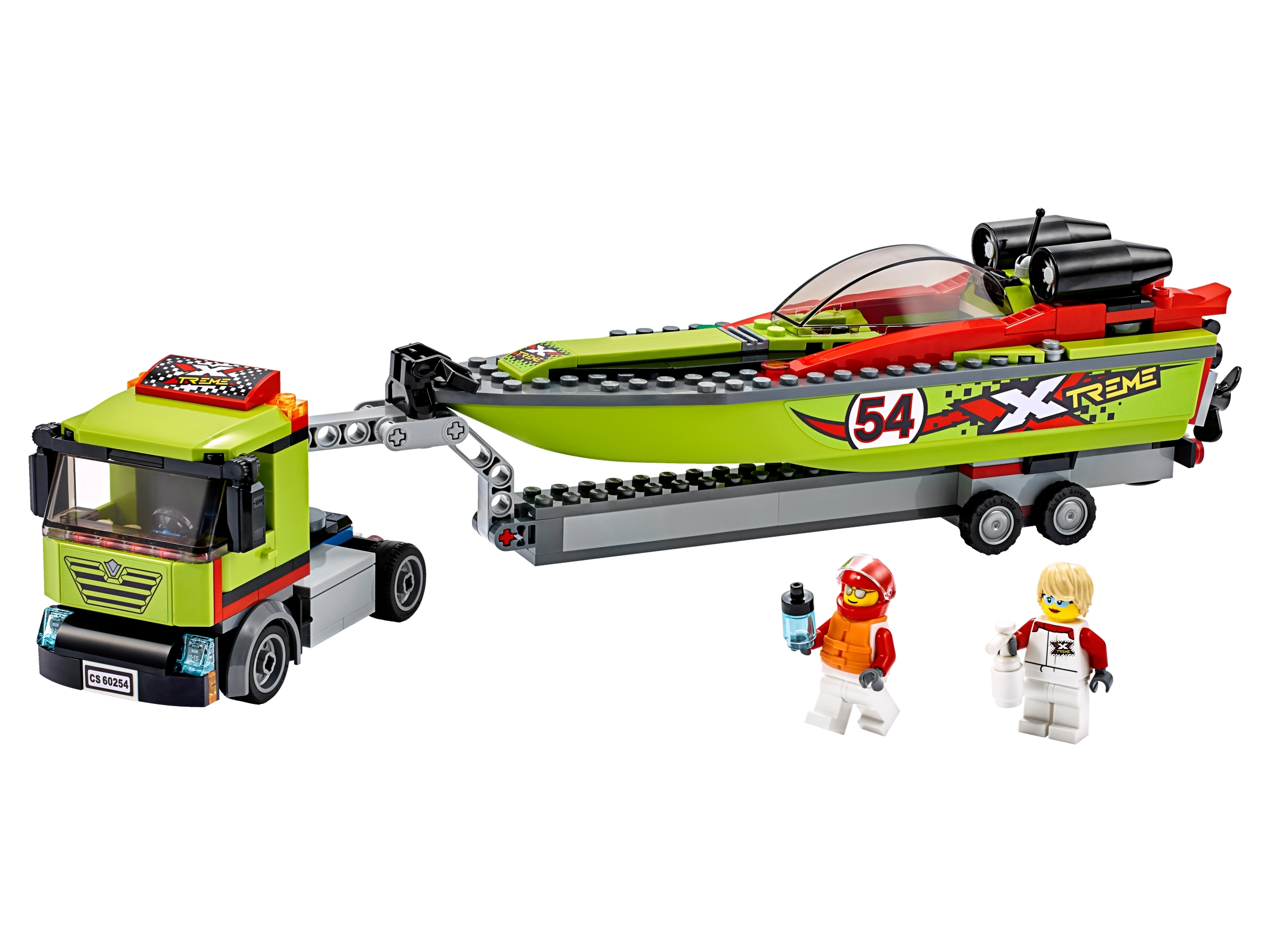 Race Boat Transporter 60254 | City | Buy online at the Official LEGO ...