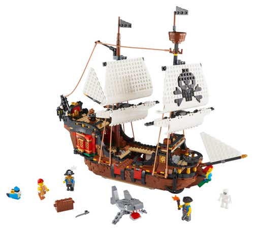 3 in 1 Creator 31109 Pirate Ship