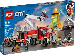 L'unité de commandement des pompiers