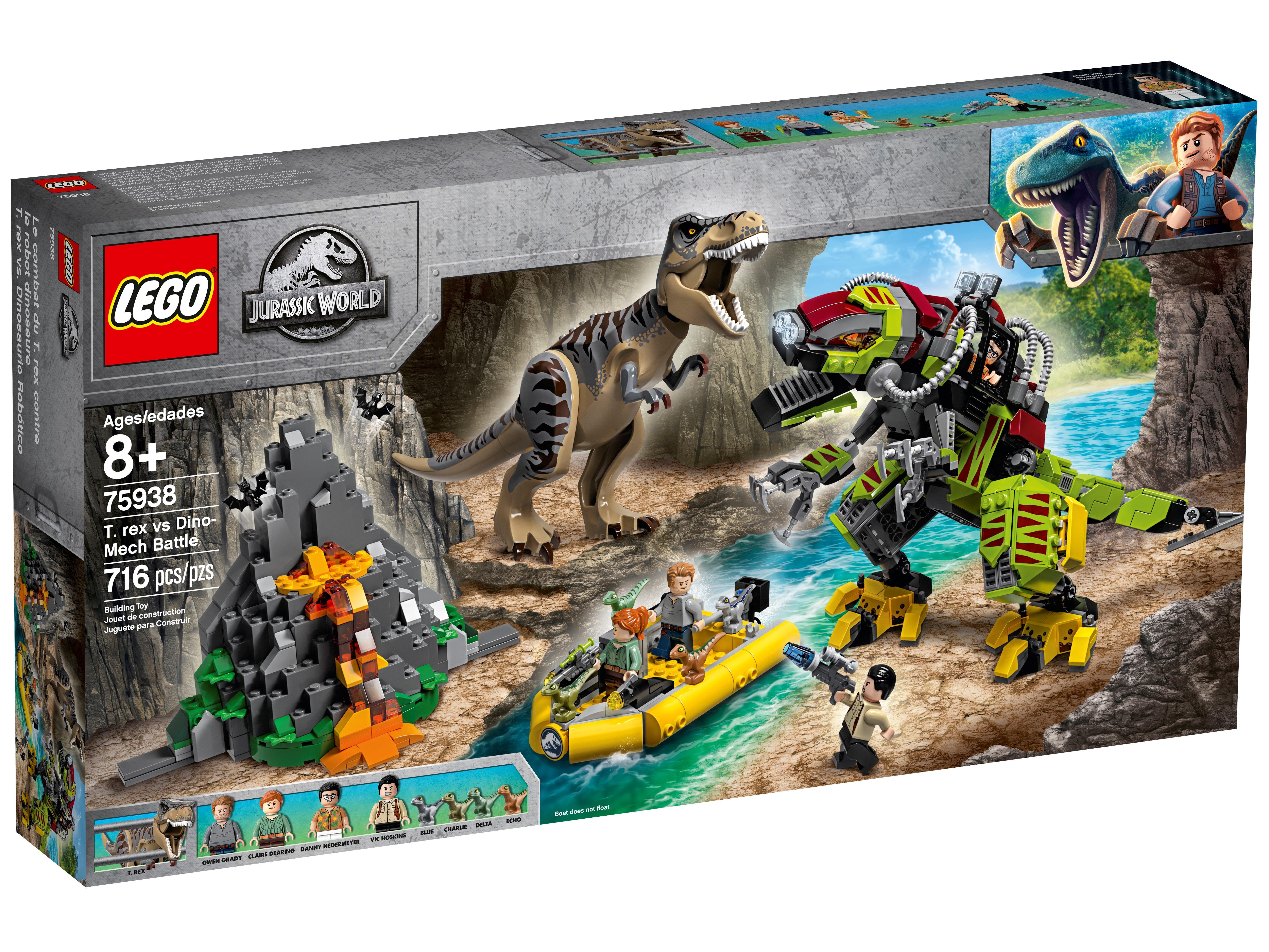 Lego® Jurassic World 1x Baby Dino grau aus Set 75938  Neu