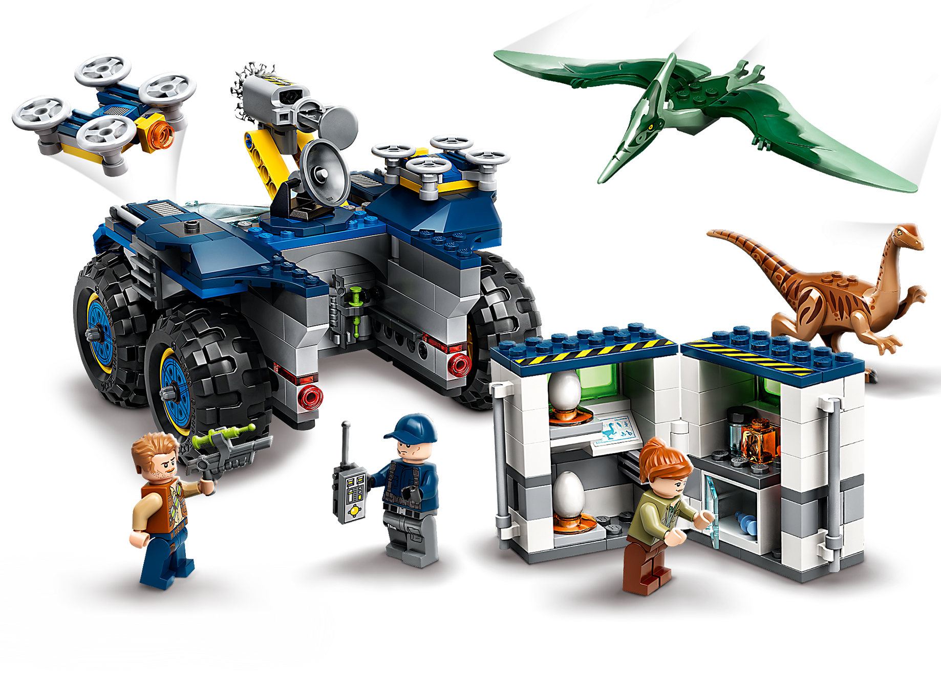 LEGO NEW Jurassic World Pteranodon flying dinosaur 75940