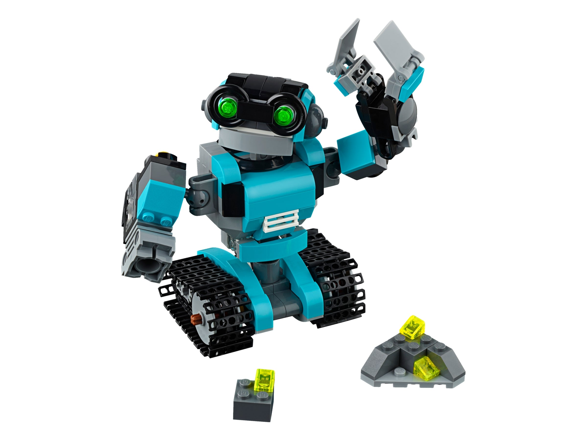 LEGO CREATOR 31062 Robo Explorer RETIRED 3 IN 1 MODEL WITH LIGHT BRICK