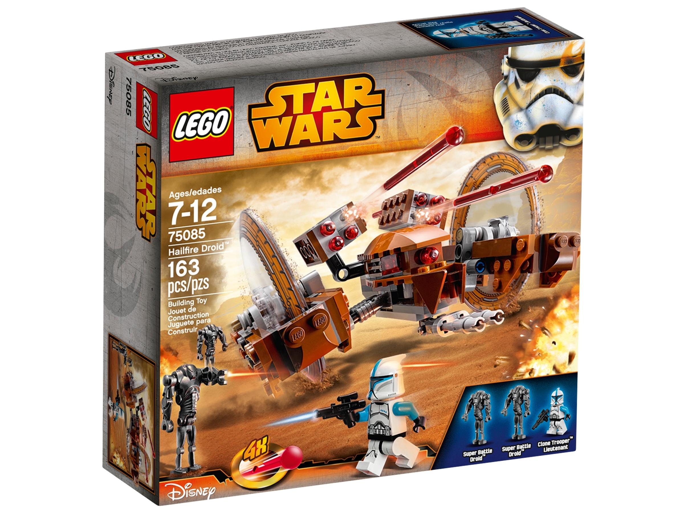 LEGO Star Wars 75085 Hailfire Droid Instruction Manual Only
