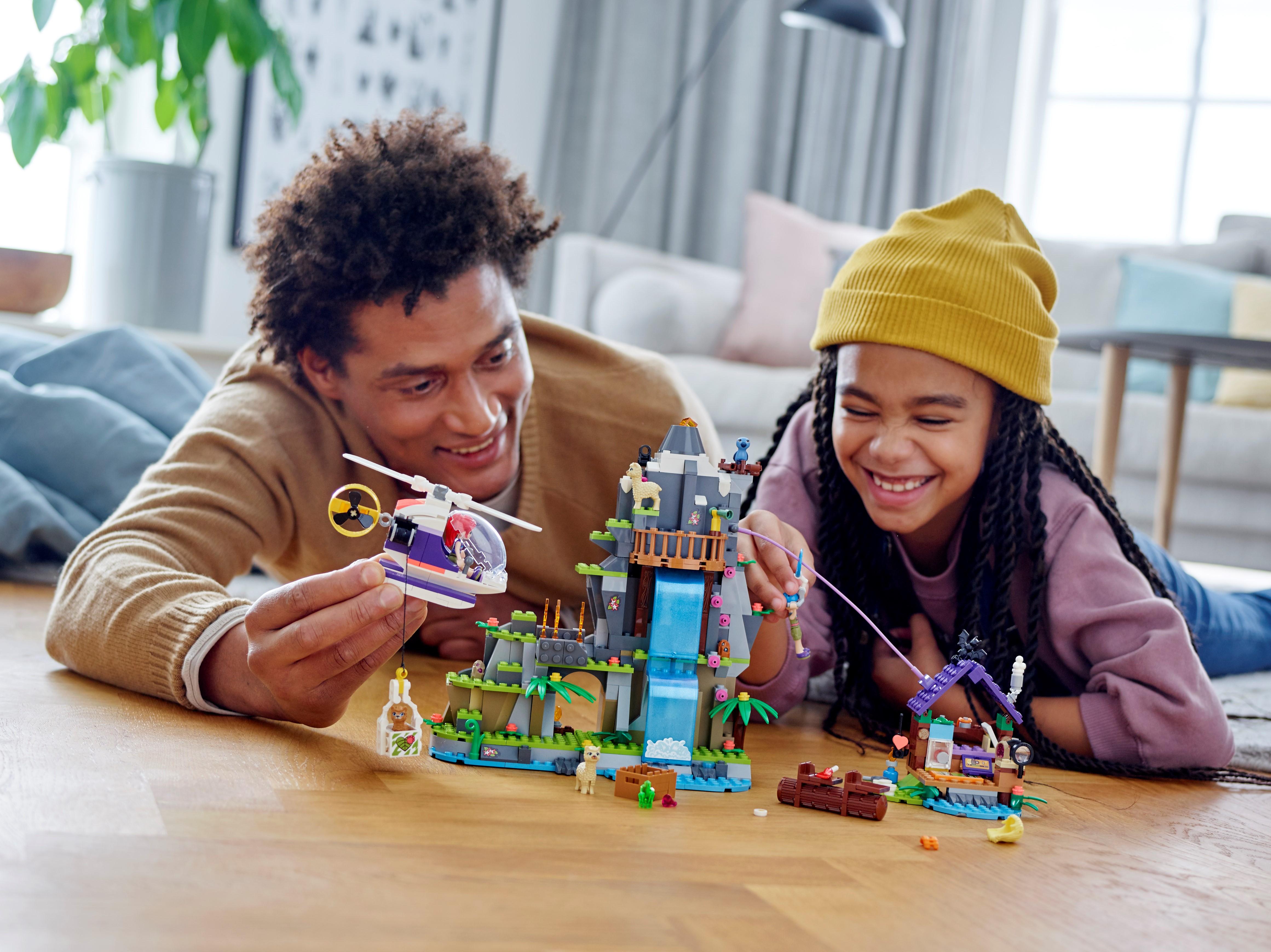 LEGO 41432 Friends Alpaca Mountain Jungle Rescue Building Toy NEW
