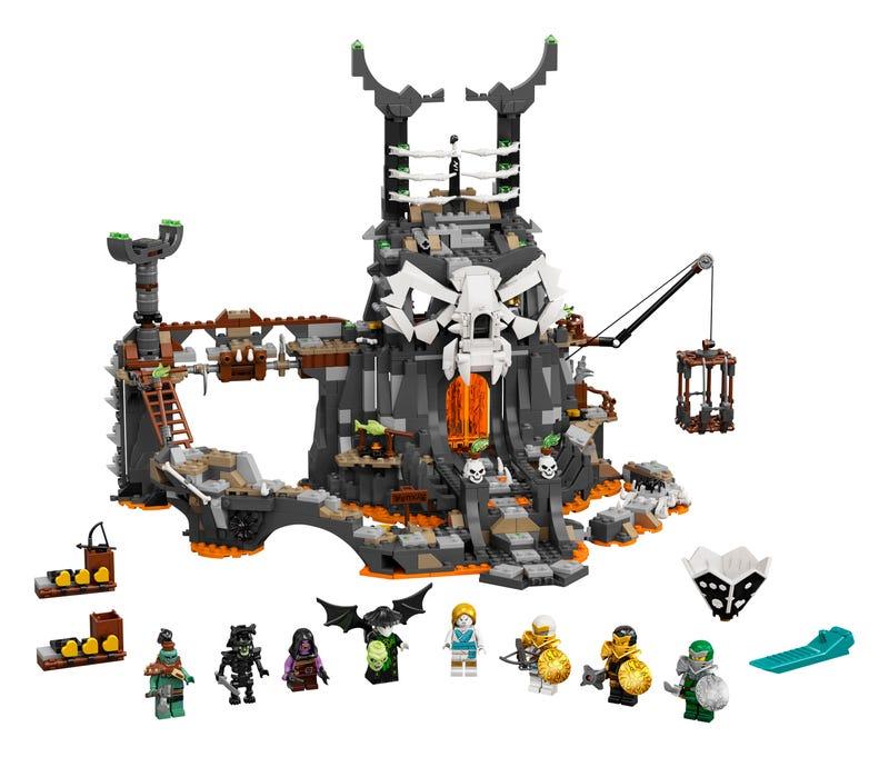 Skull Sorcerer's Dungeons
