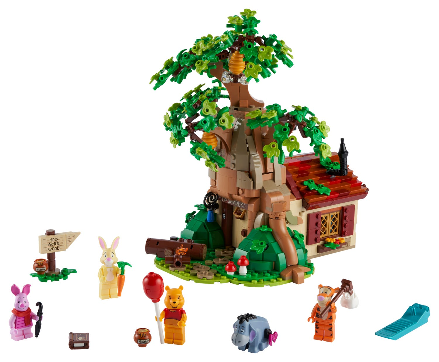Winnie the Pooh 21326 | Ideas | Buy online at the Official LEGO® Shop US