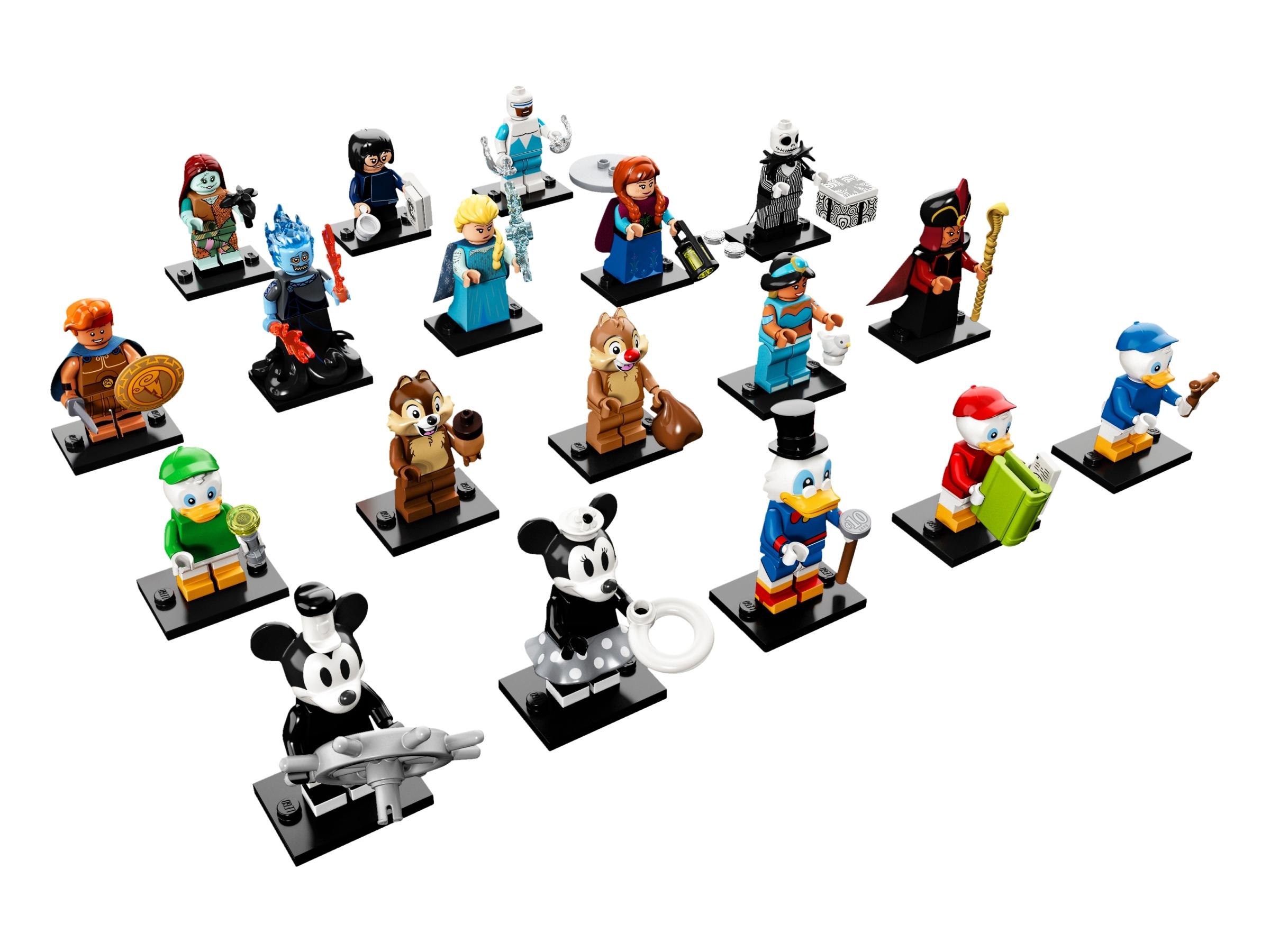 New Minifigure Rare Custom Lego Dewey New Version Character Walt Disney Movie