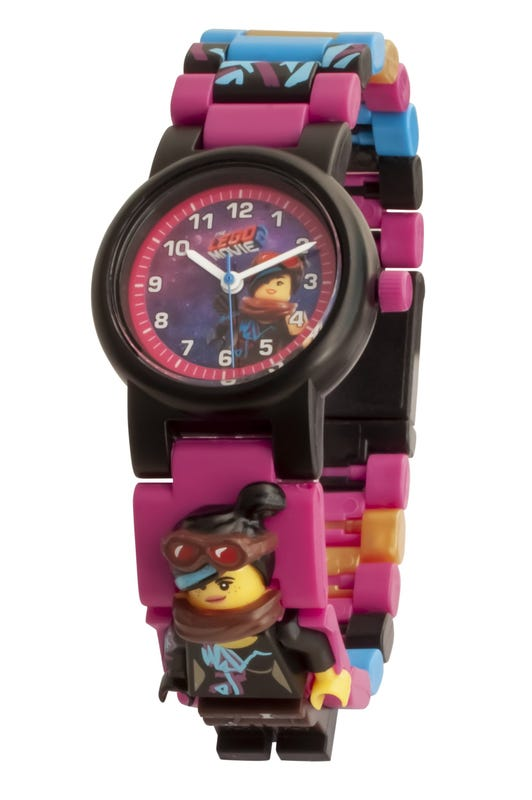 LEGO THE LEGO MOVIE 2 Wyldstyle Minifigure Link Watch