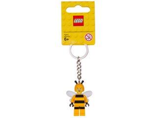 LEGO® Bienen-Kostüm-Mädchen Schlüsselanhänger