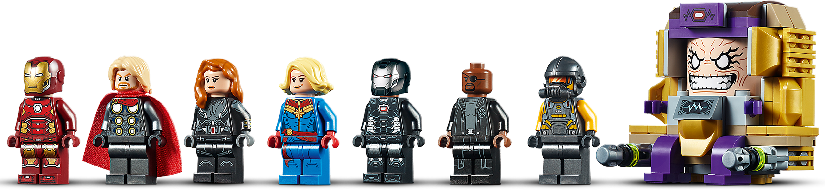 Nick Fury new LEGO Super Heroes Ultimate Spider-Man Minifig