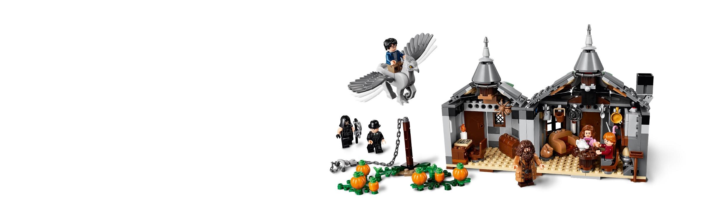Hagrid/'s Hut Buckbeak/'s Rescue LEGO Brand New LEGO-75947