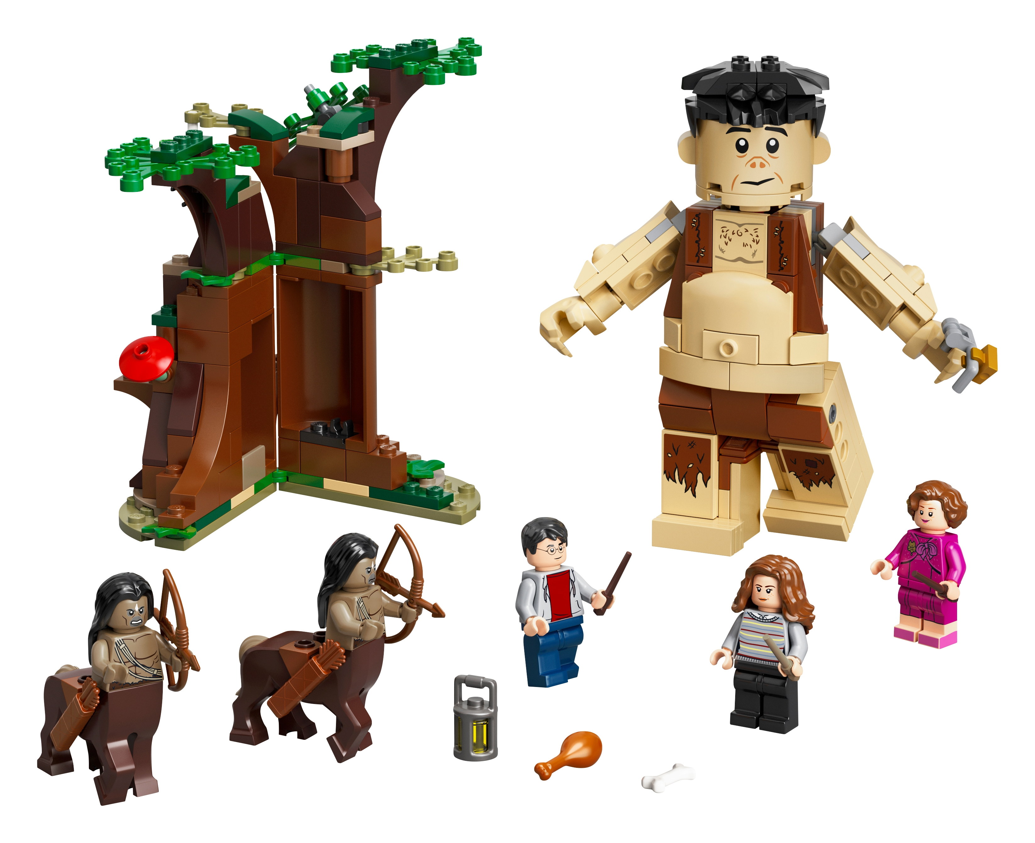Der Verbotene Wald Begegnung Mit Umbridge 75967 Harry Potter Offiziellen Lego Shop De