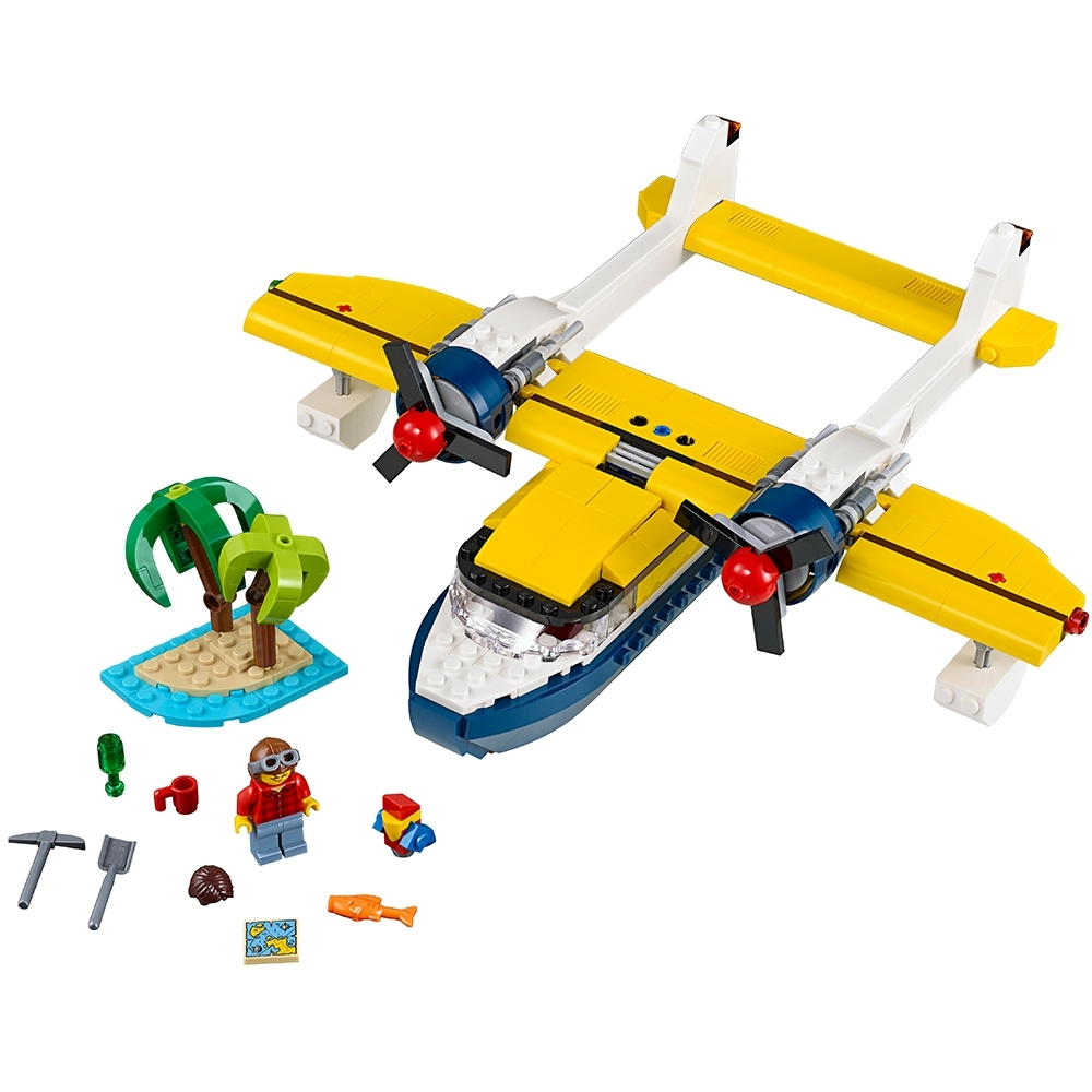 Free Shipping Lego Creator Island Adventures 31064