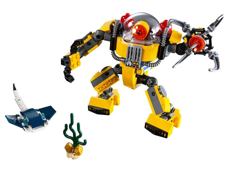Le robot sous-marin