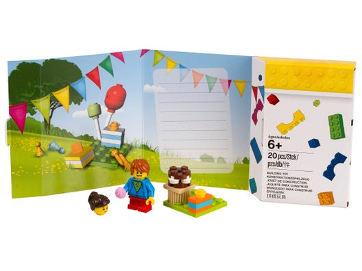 Lego Birthday Card 5004931 Classic Buy Online At The Official Lego Shop Gb