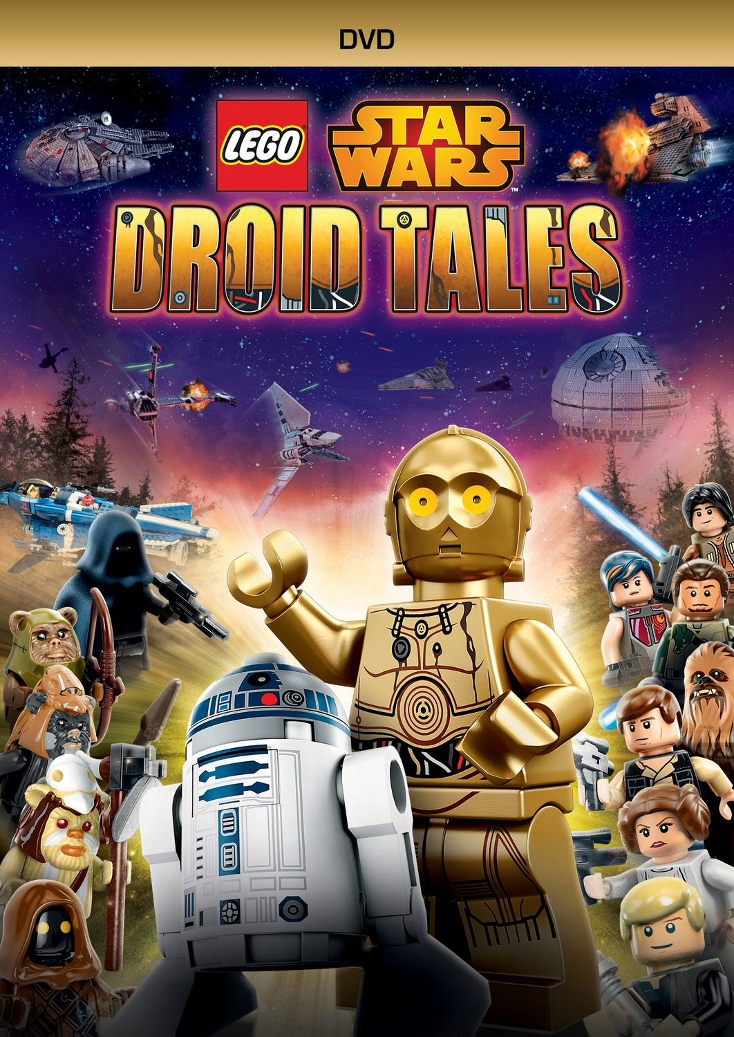 LEGO SW DROID TALES (DVD)