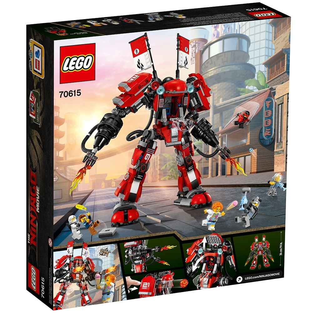 Lego Ninjago ® ™ Movie lauren desde el set 70615