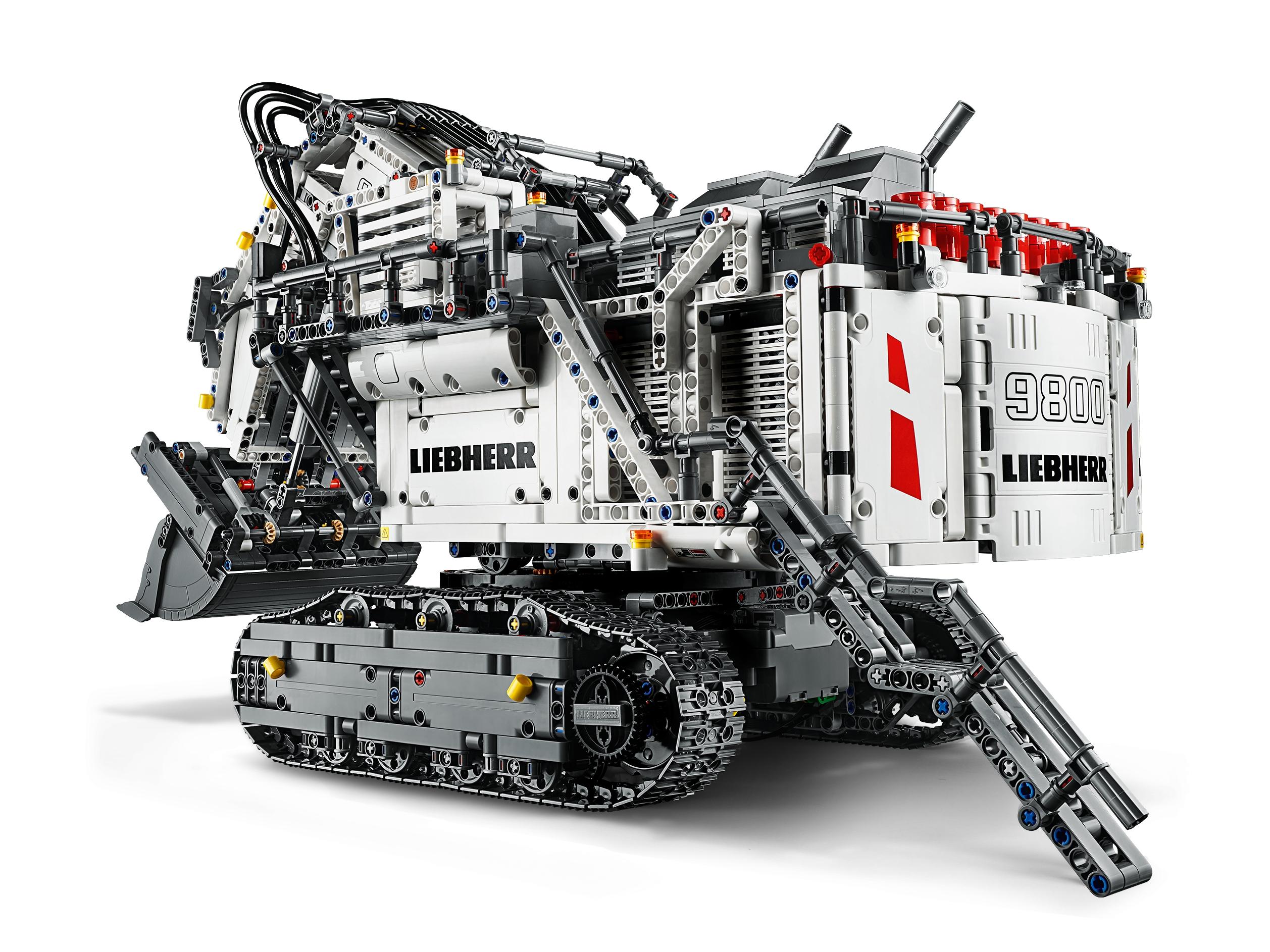 liebherr bagger r 9800 lego