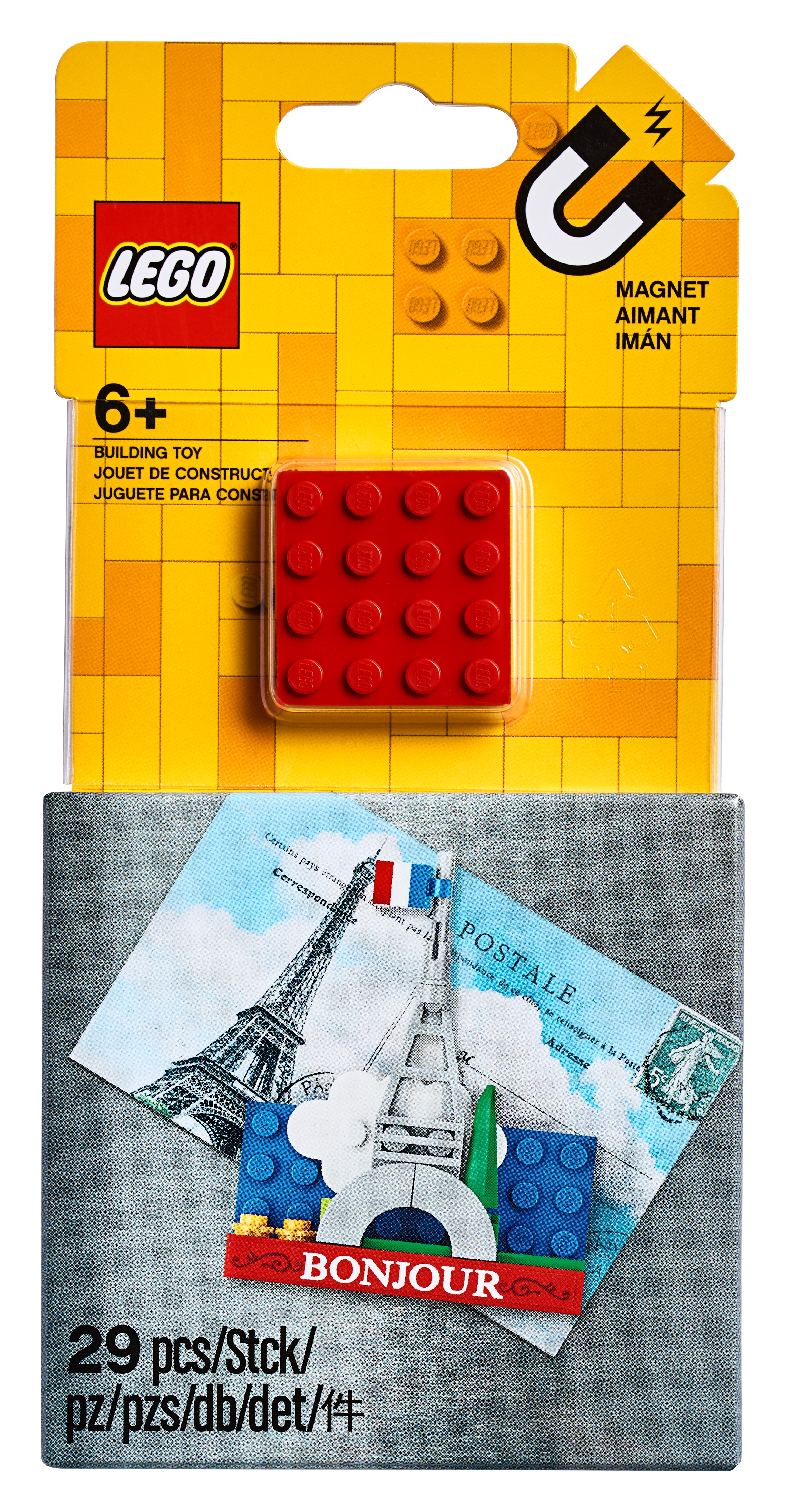 Eiffel Tower Magnet Build 854011 Miscellaneous Buy Online At The Official Lego Shop Us