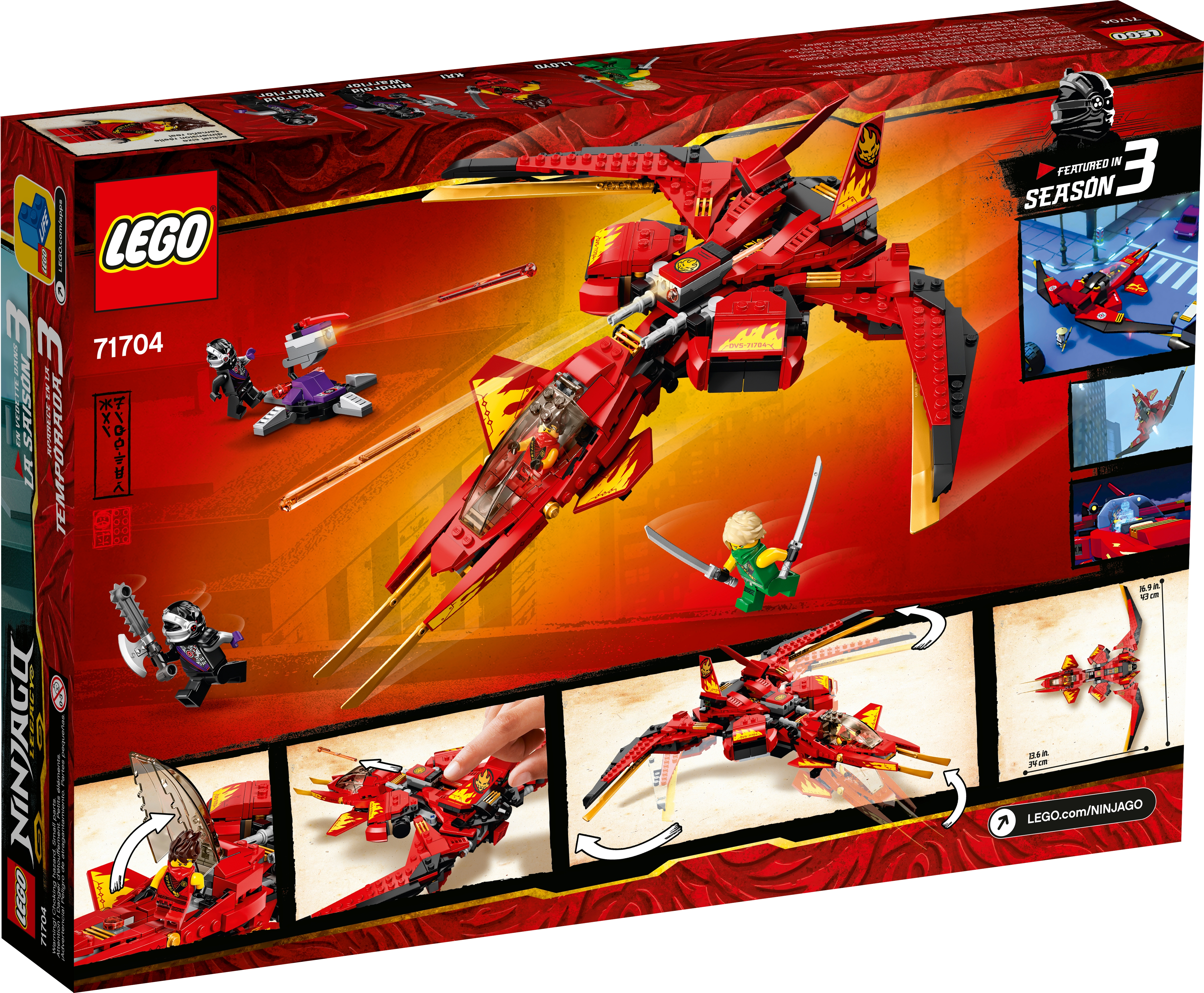 Kai Fighter 71704 Ninjago Buy Online At The Official Lego Shop Us