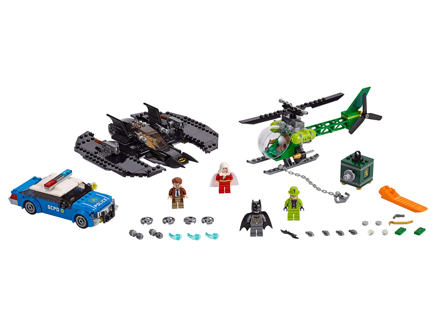 Batman™ Batwing and The Riddler™ Heist 76120 | DC Super Heroes ...