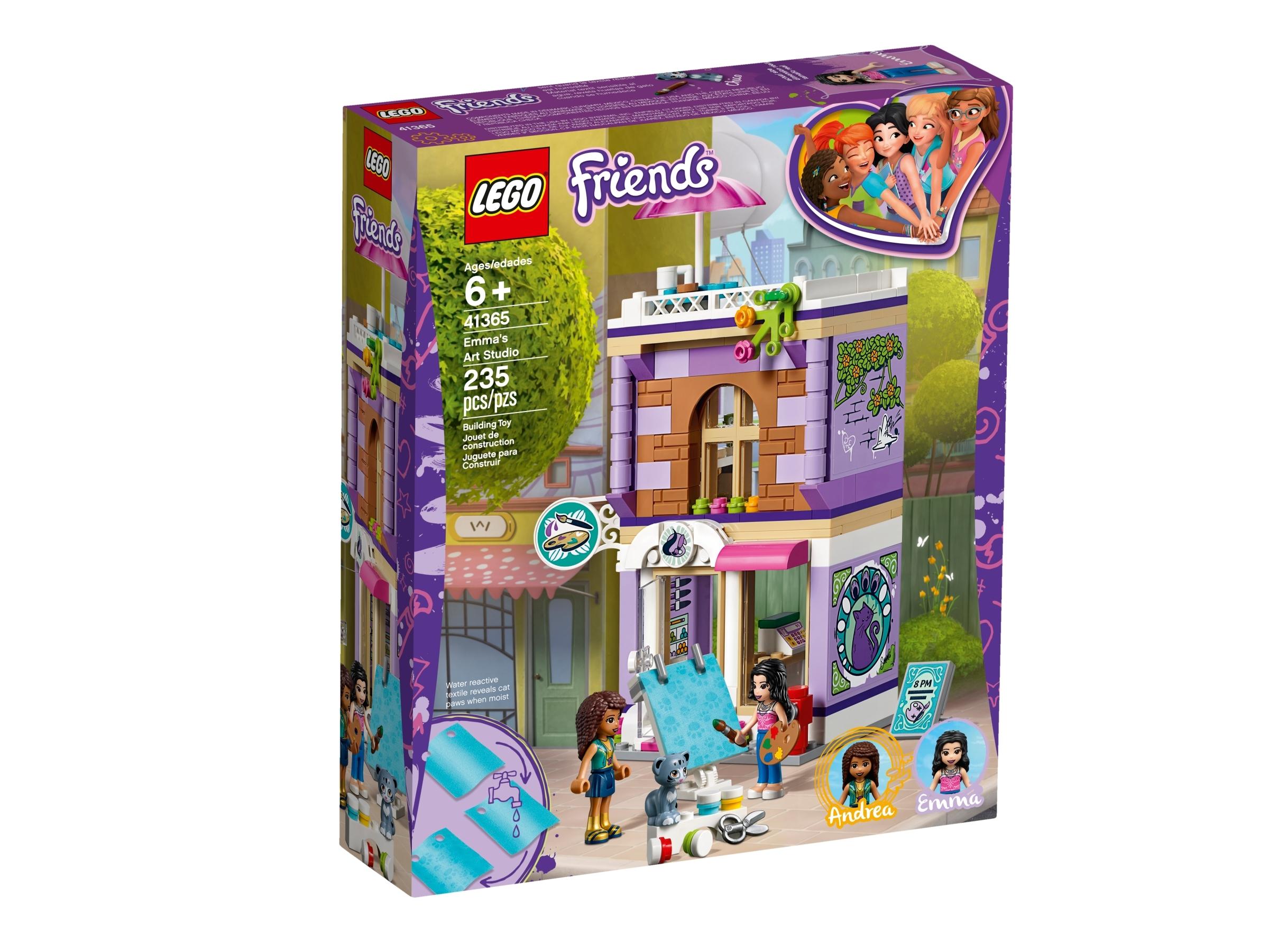 Emma S Art Studio 41365 Friends Buy Online At The Official Lego Shop Us