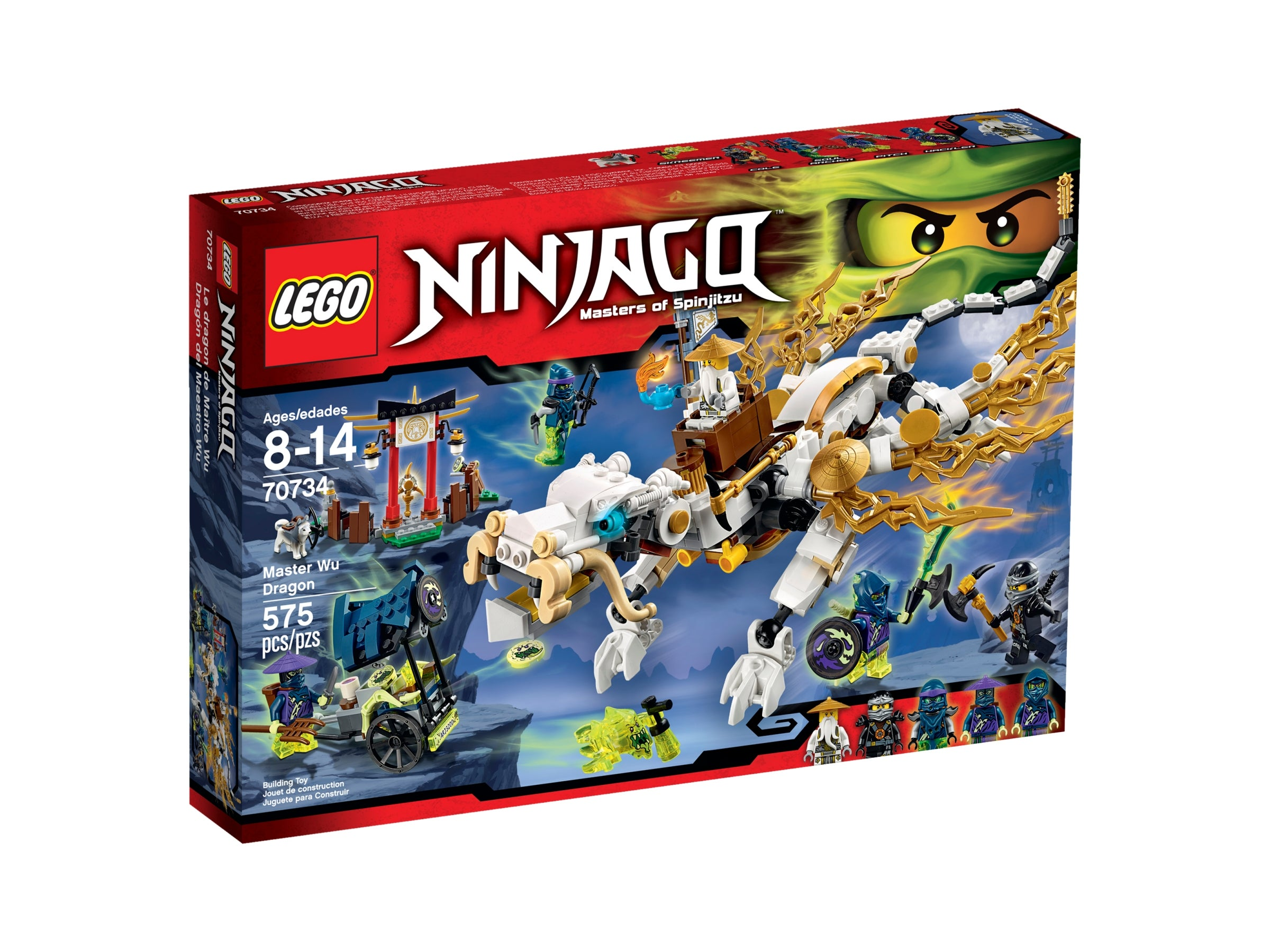 Lego polybag ninjago shield round shield round with dragon head new