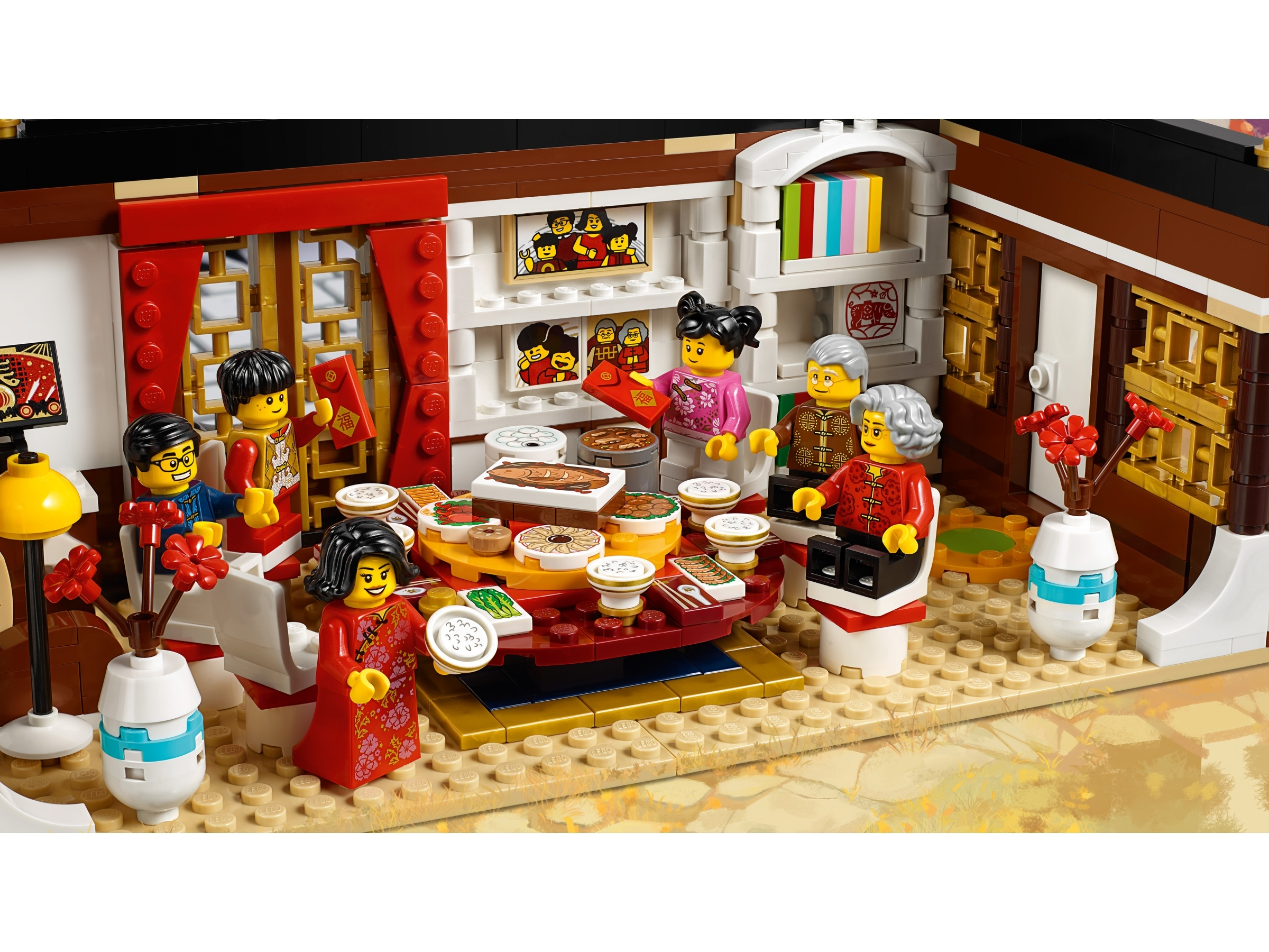 BRAND NEW RETIRED Lego 80101 Chinese New Year Eve/'s Dinner