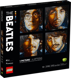 乐高艺术生活系列 - 披头士乐队