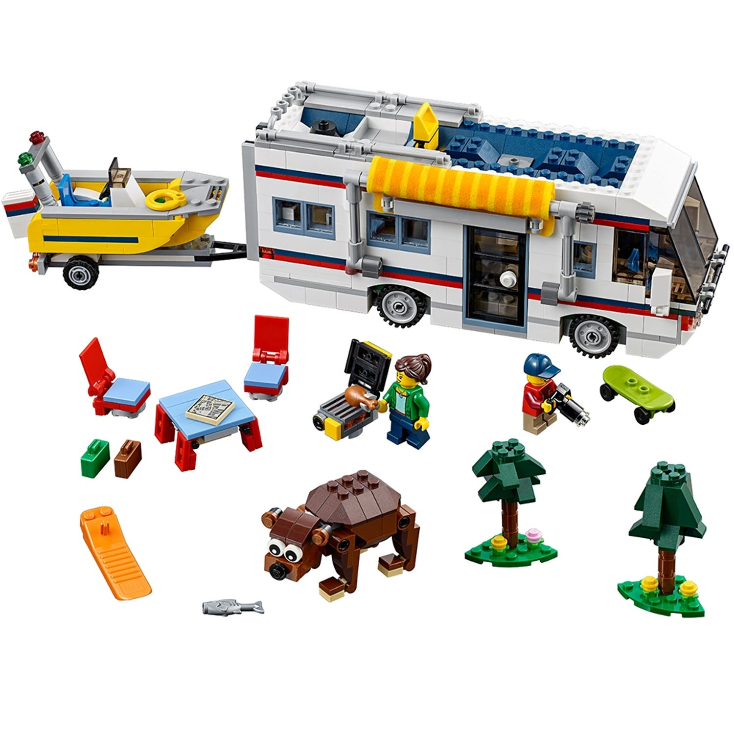 Vacation Getaways 8  Creator 8-in-8  Buy online at the Official LEGO®  Shop US