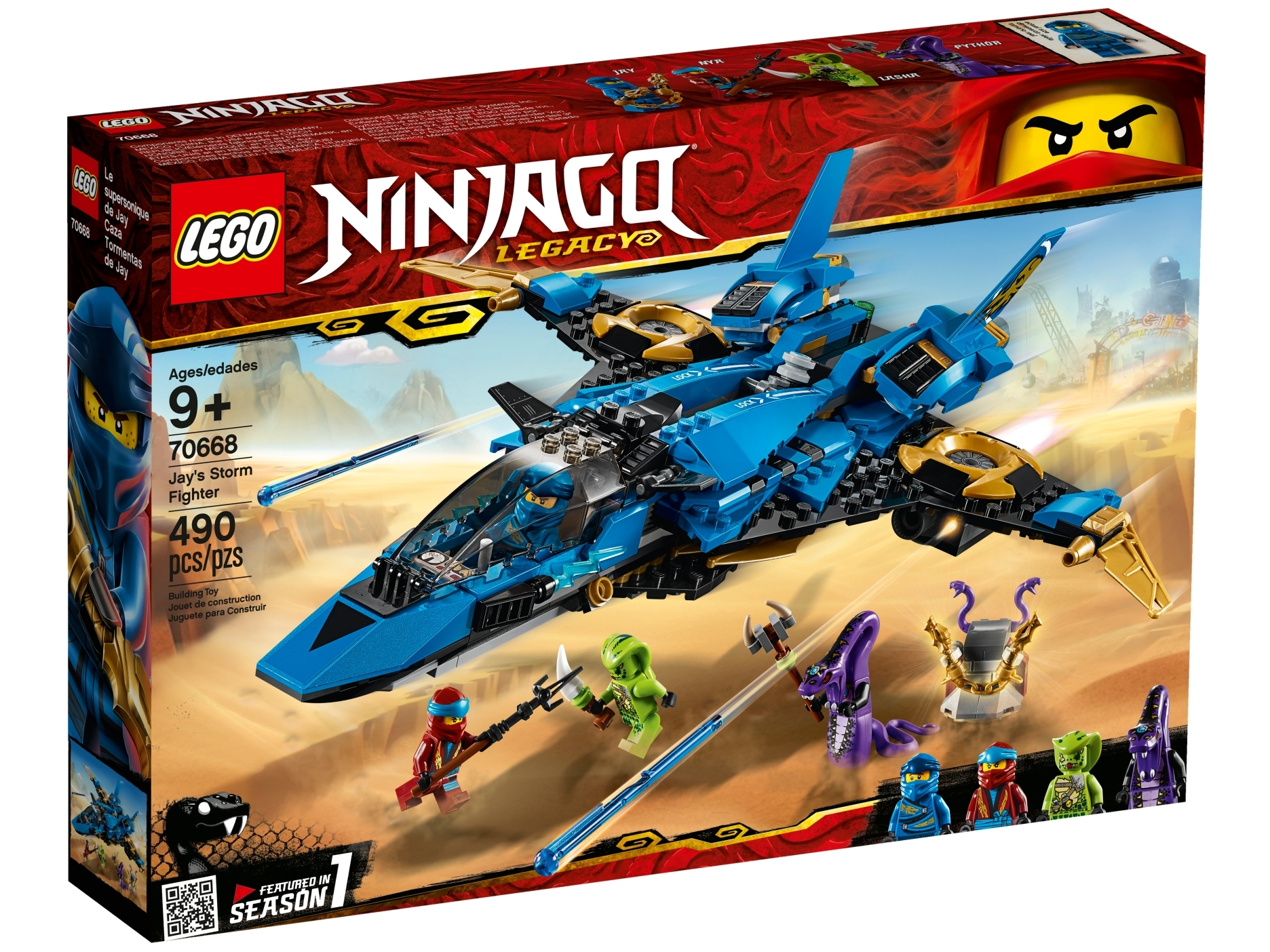 Jay S Storm Fighter 70668 Ninjago Buy Online At The Official Lego Shop Ca