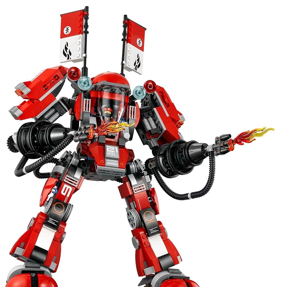 Robot Lego Ninjago Movie 70615 Fire Mech instructions manuel