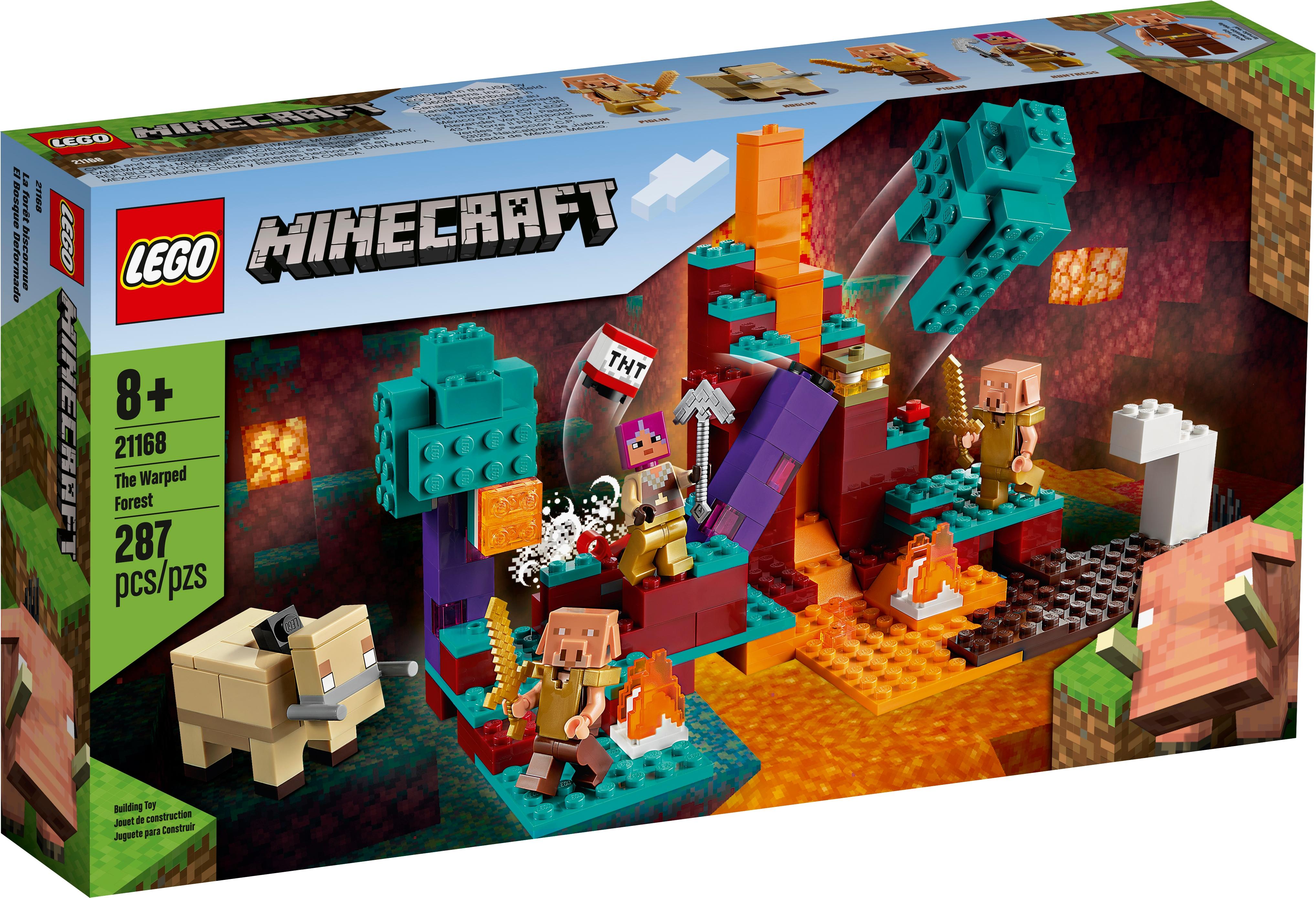 El Bosque Deformado 21168 Minecraft Oficial Lego Shop Mx
