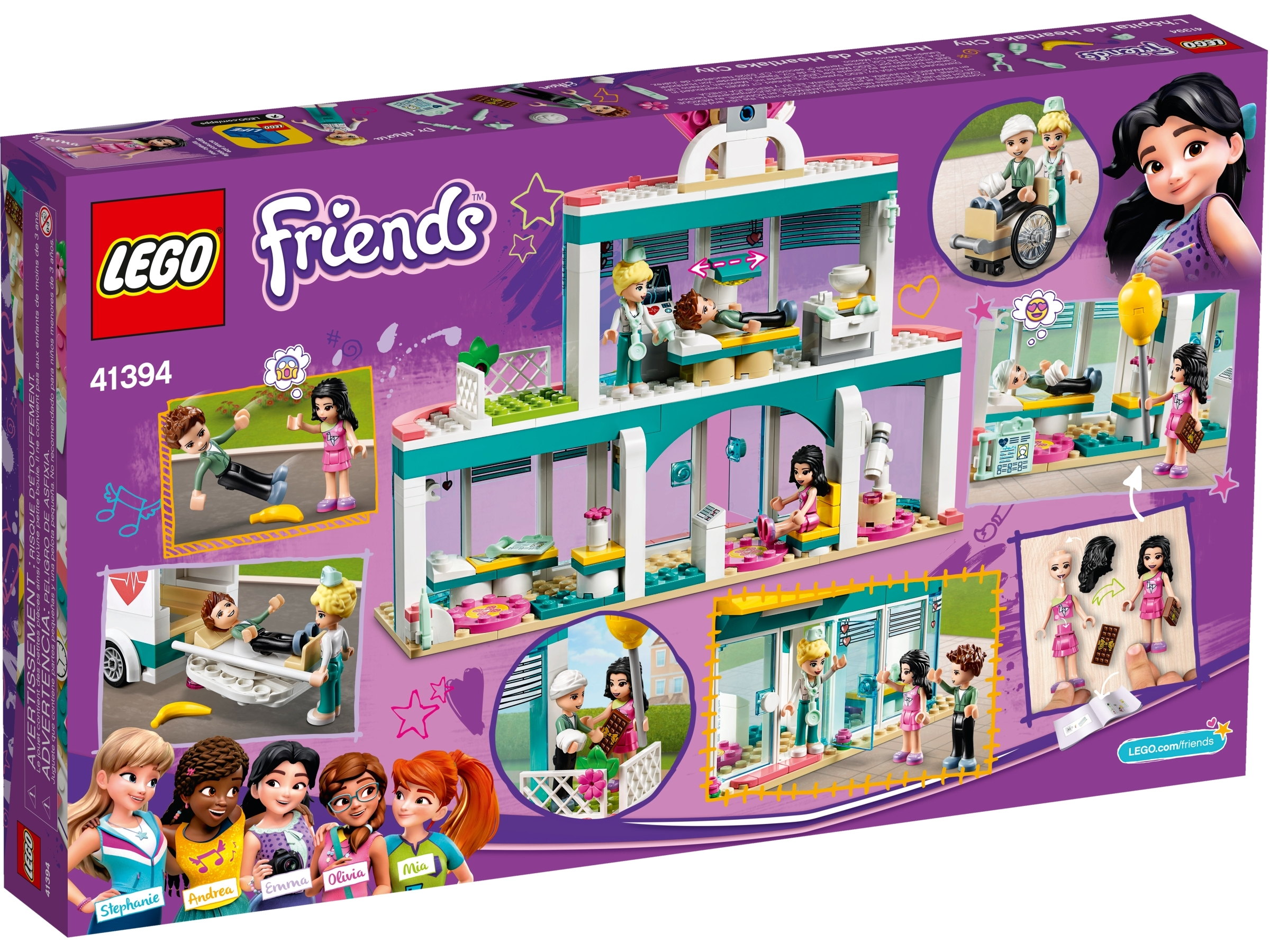 Lego Friends L/'Ospedale Di Heartlake City 41394 Lego Friends