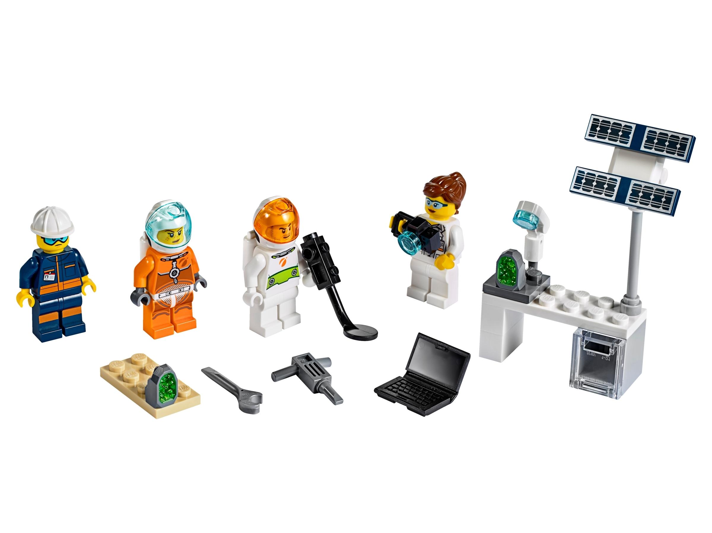 lego space minifigures set 2019