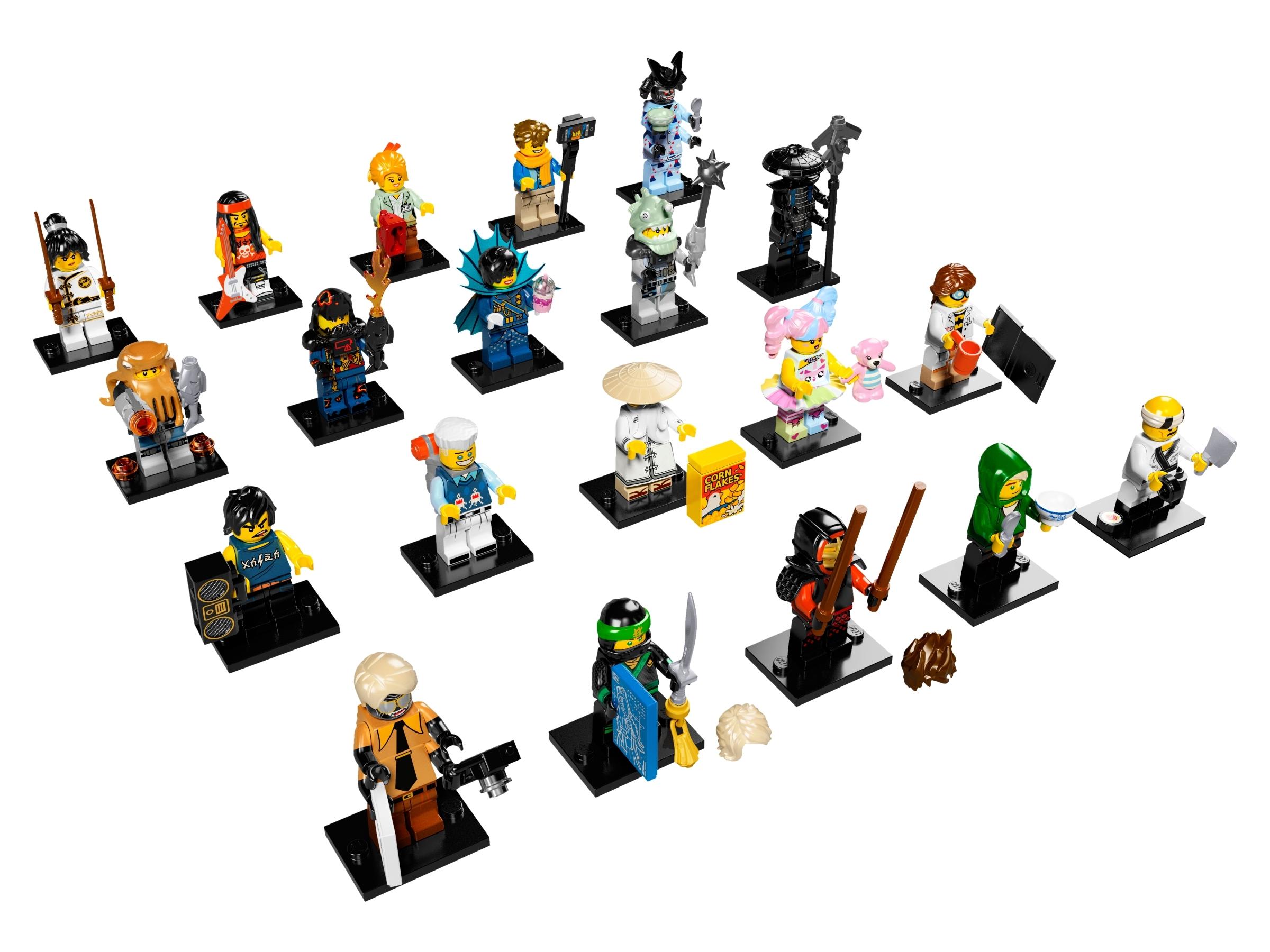 NEW LEGO The Ninjago Movie Minifigures Series 71019 Shark Army Great White