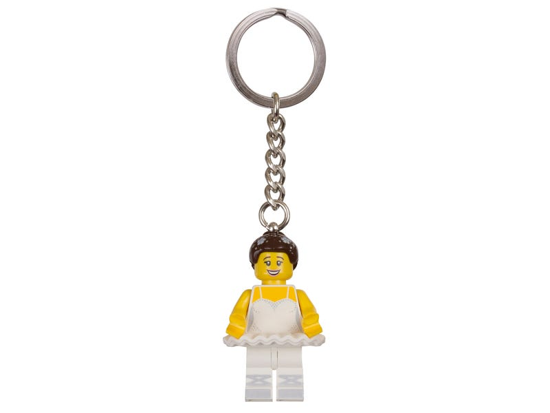 LEGO® Ballerina Key Chain