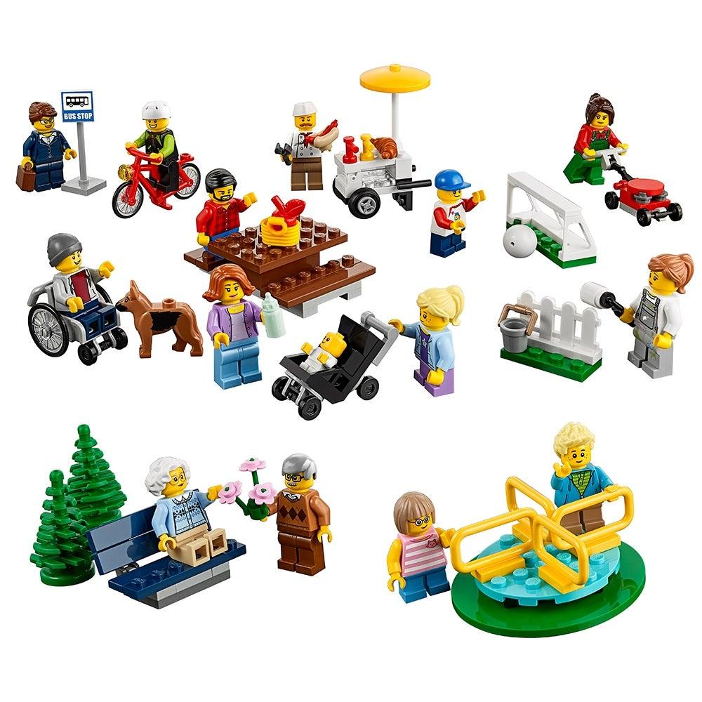 Lego City Town New Pieces Dark Brown Park Playground Tree Slide 11267 60134