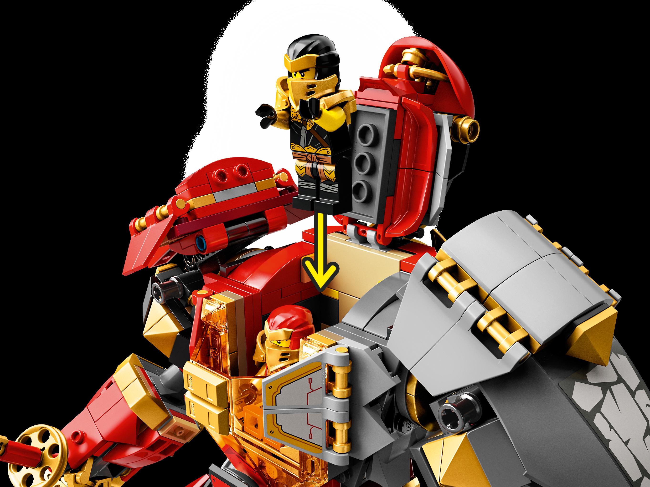 Robô Pedra De Fogo 71720 Ninjago Lego Com Br