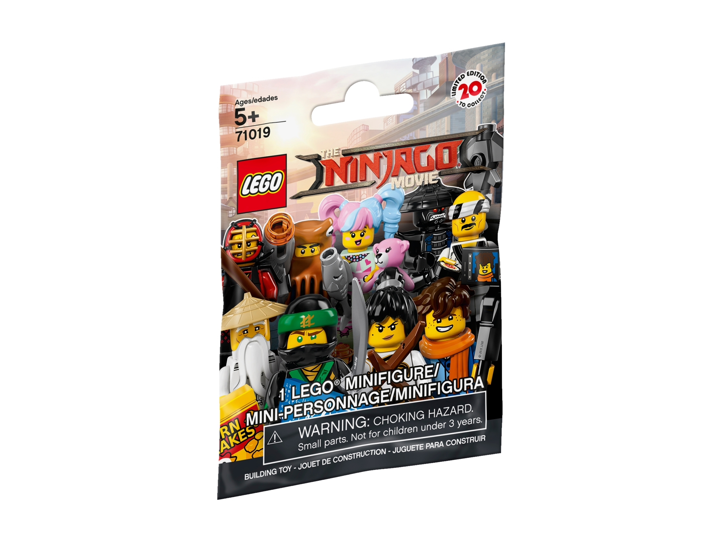 Retired. LEGO Minifigures The Ninjago Movie New Unopened Blind Pack