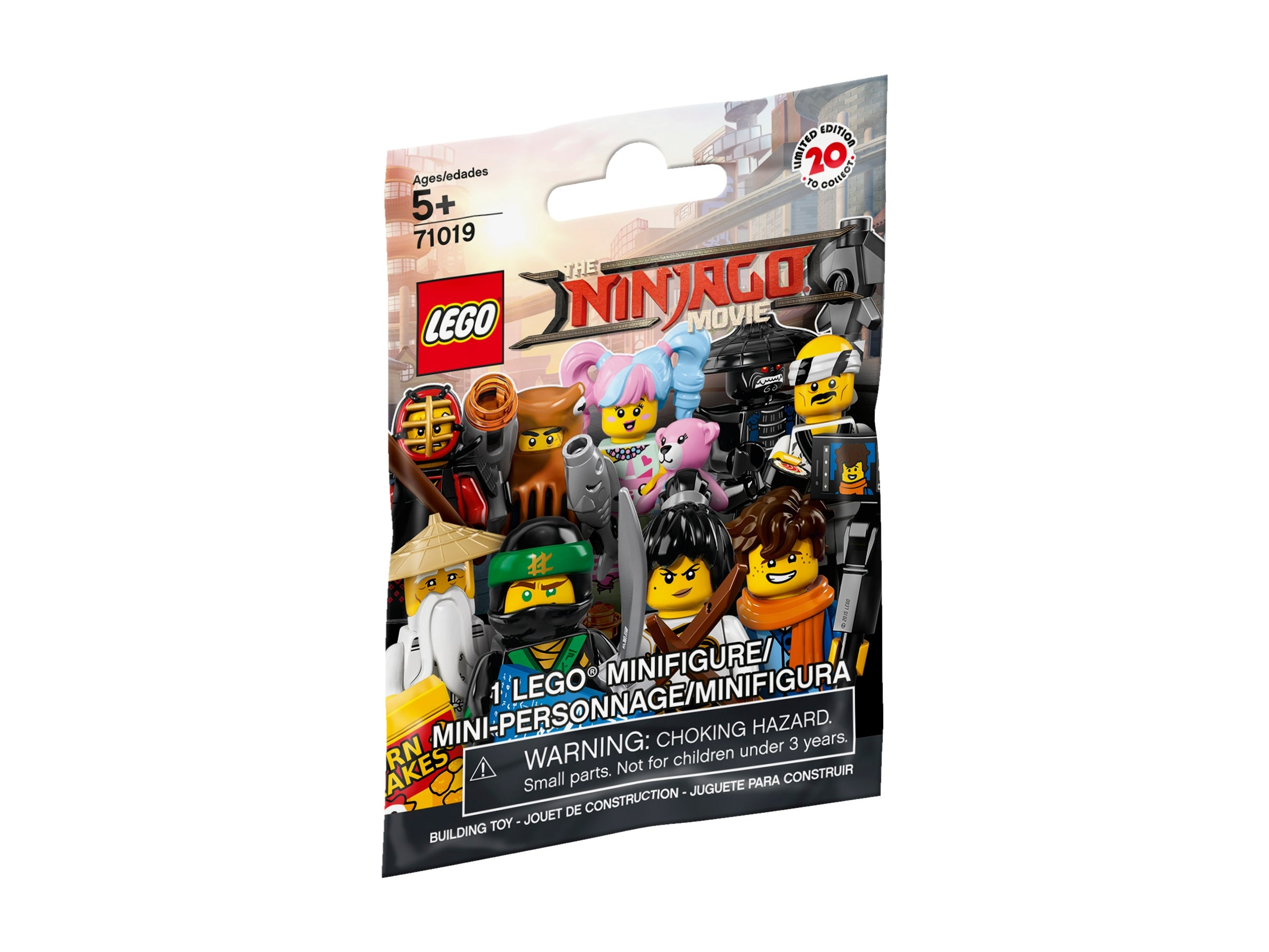 Lego Ninjago Movie 71019 Minifigure Series