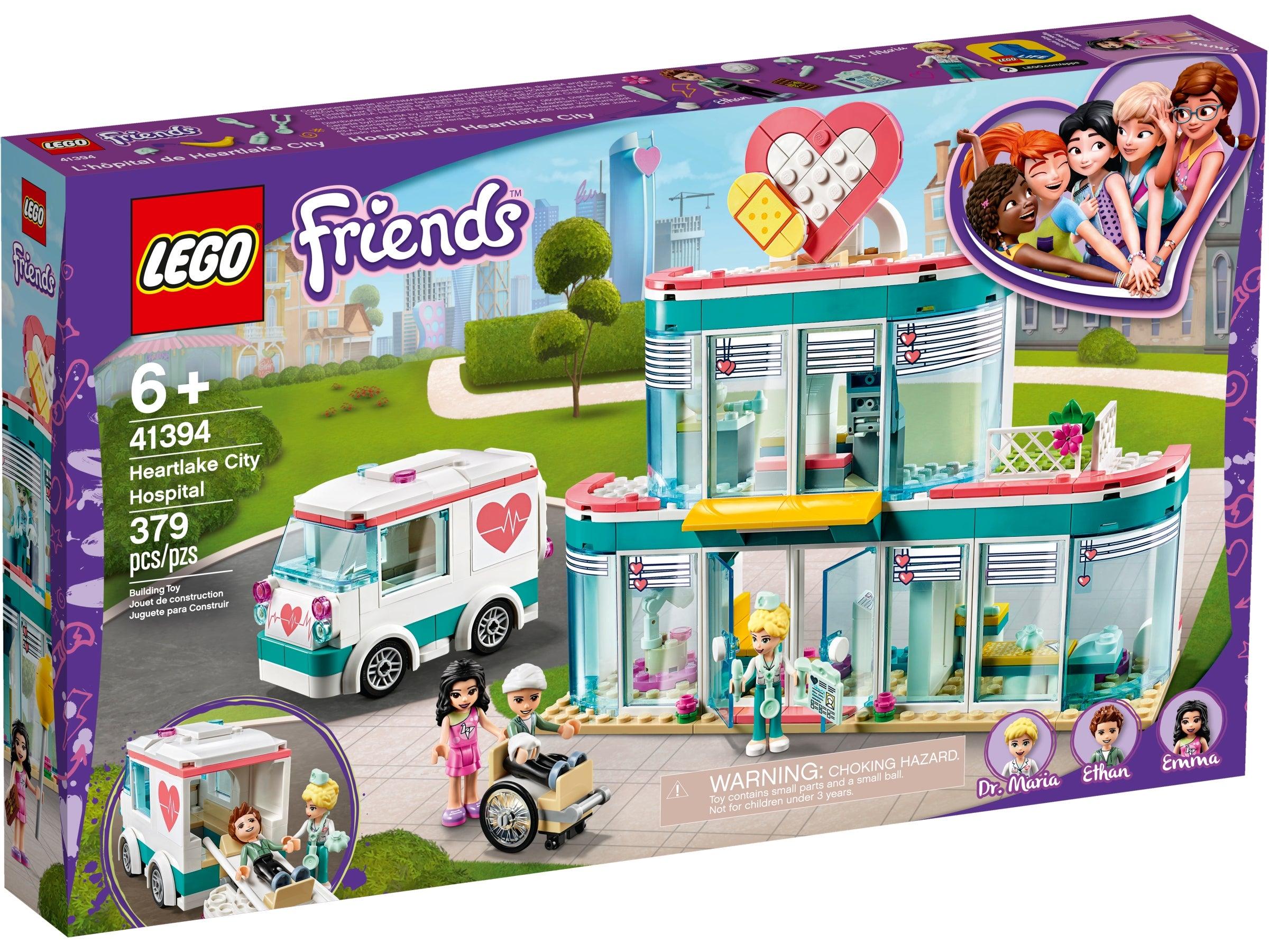 LEGO® Friends Heartlake City Hospital 41394 Brick New Toy