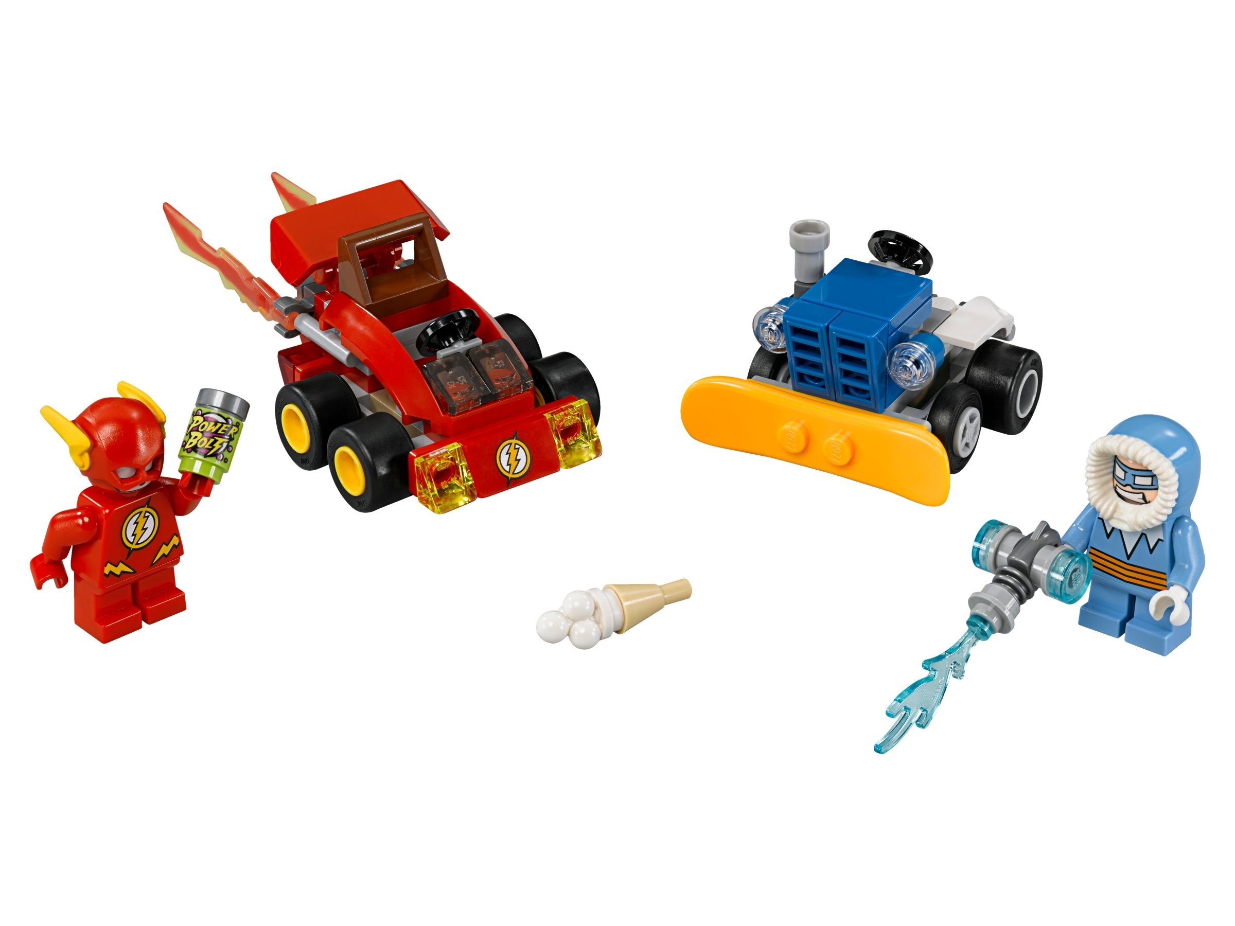 Lego Super Heroes Mighty Micro 76063 Flash vs Captain Cold Brand New
