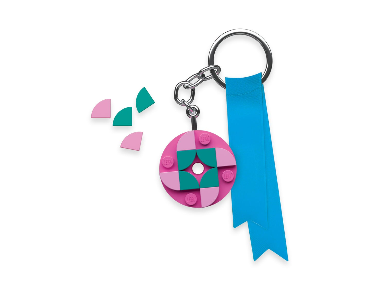 Round 4x4 Key Chain