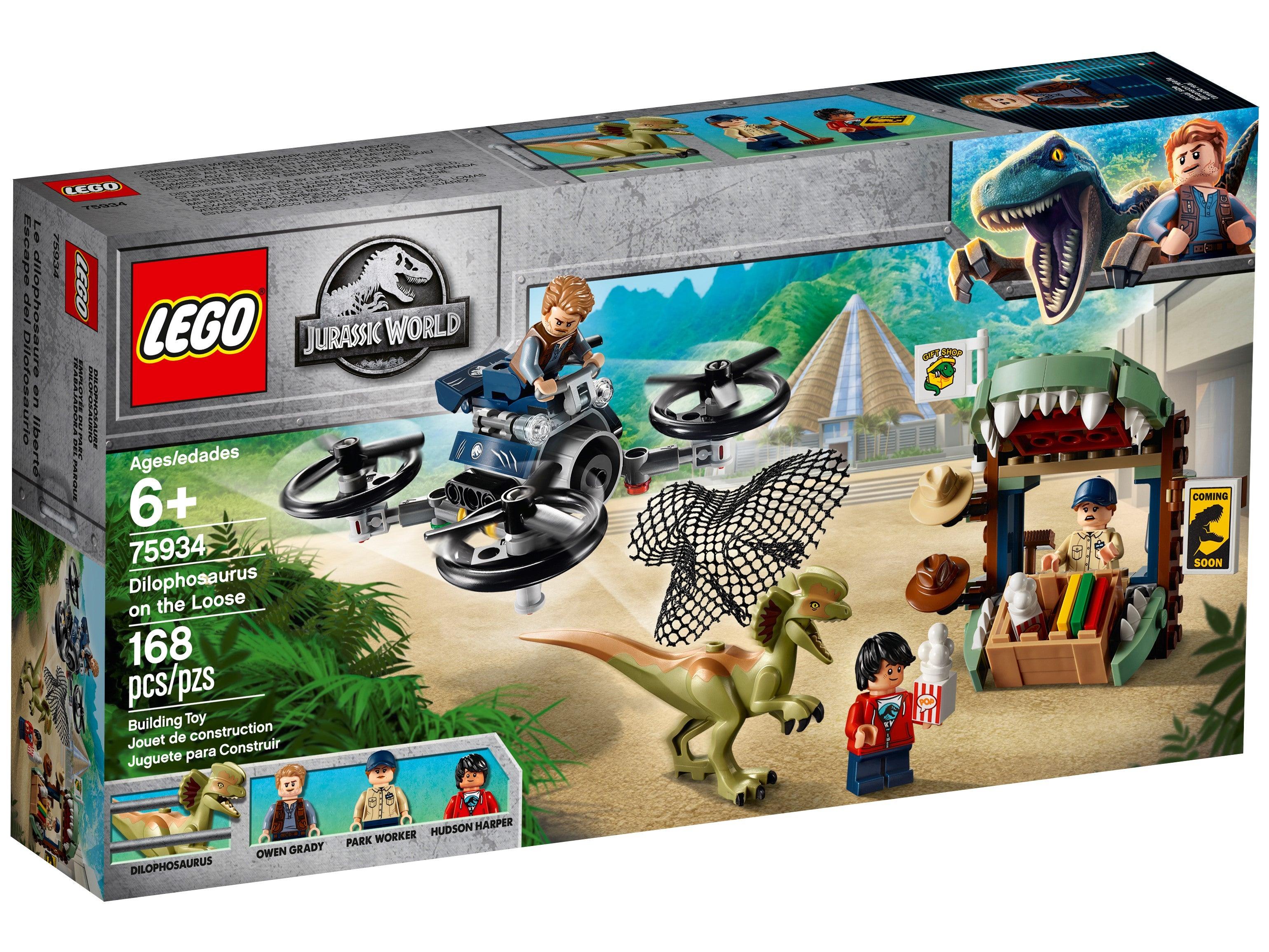LEGO Dilophosaurus on the Loose Jurassic World for sale online 75934