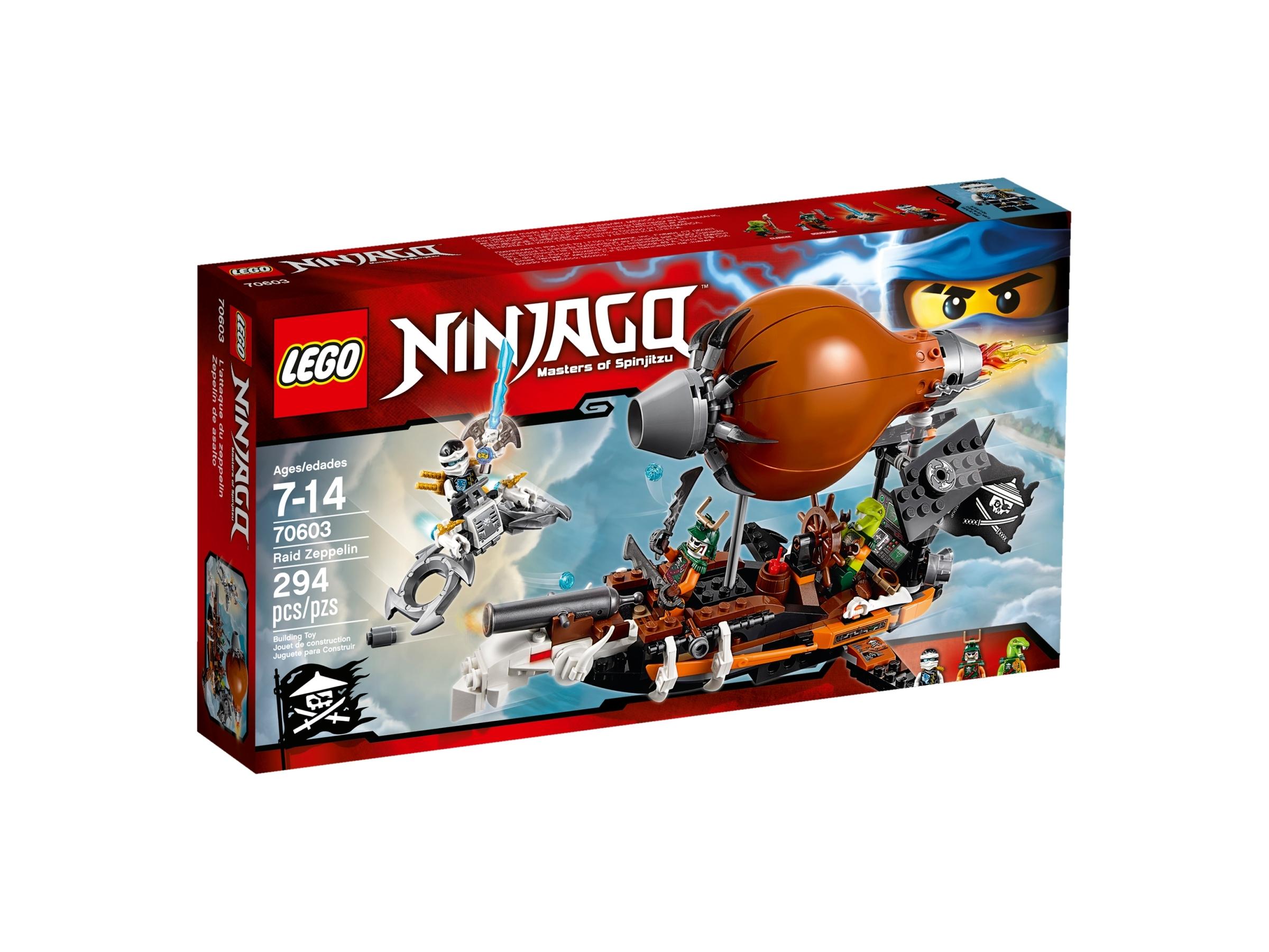 LEGO 70603 Ninjago Raid Zeppelin Skybound Sky Pirate Doubloon Minifigure