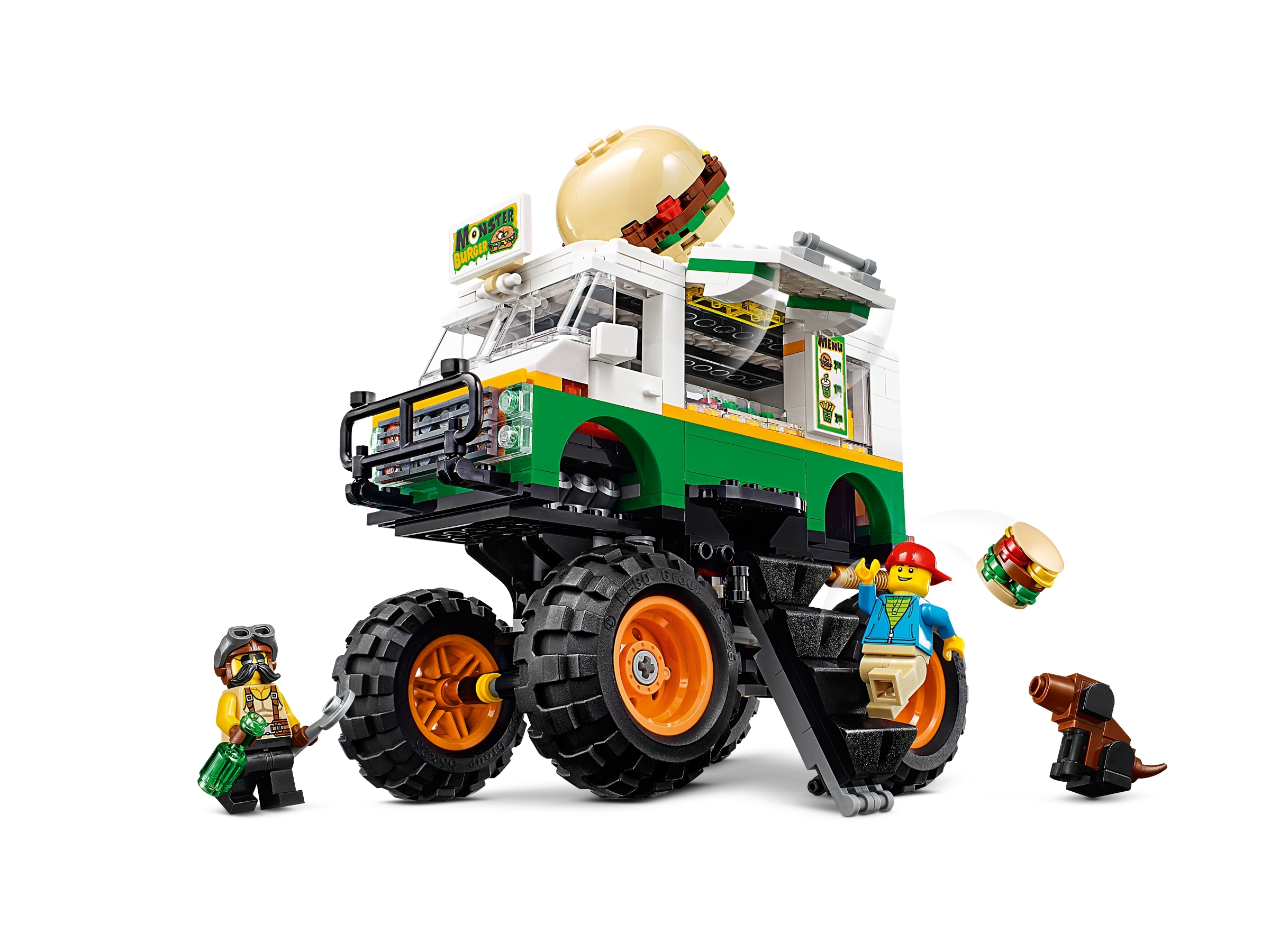 Monster Burger Truck 31104 Creator 3 In 1 Buy Online At The Official Lego Shop Us