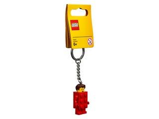 Brick Suit Guy Key Chain