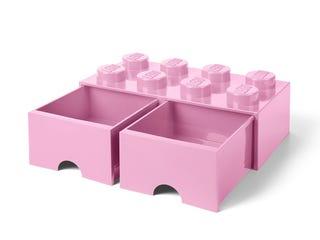 LEGO® 8-Stud Light Purple Storage Brick Drawer
